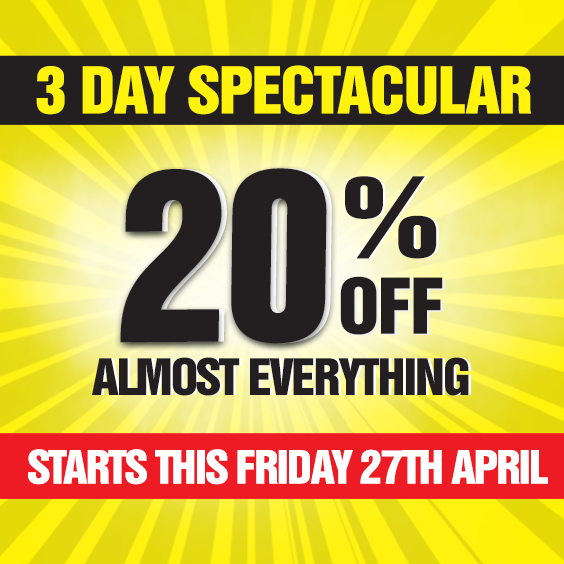 3 day spectacular